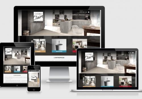 Notre site est en ligne !